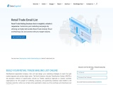 Retail Industry Email list | Retail Industries Mailing Database