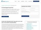 Criminologists Email List   Criminologist Mailing Database