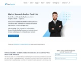 Market Research Analyst Email List | Market Research Analyst Database