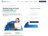 Lead Enrichment | Lead Enrichment For CRM | Enrich CRM Leads