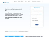 Business Intelligence Users Email List | Buy B2B Mailing Database