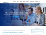 Best Dell NetVault Users Mailing List Database |USA