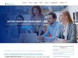 Accurate Deltek Costpoint Users Email List -USA