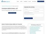 Best Eloqua Users Email List | Eloqua Customers Contact DataBase | USA
