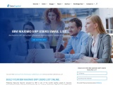 IBM Maximo ERP Users Email List | Maximo ERP Users Mailing Database