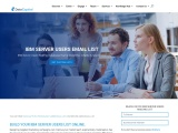 Top IBM Users Email List | IBM Customers Mailing Database |USA
