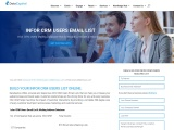 Infor CRM Users Email List | Infor CRM Customers Mailing Database