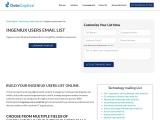 Top Ingeniux Users Email List | Ingeniux Users Mailing Address Database| USA