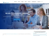 Top MS ASP Programming Language Users Email List Database Providers |USA