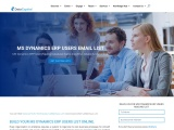 Top MS Dynamics ERP Users Email List   MS Dynamics ERP Users Database Providers   USA