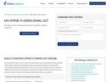Best MS Hyper-V Users Email List | MS Hyper-V Customers Mailing Database| UK