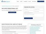 MS Lync Users Email List | MS Lync Users Custom List