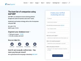 SAP ERP Users Email List | SAP ERP Users Customer Mailing Database