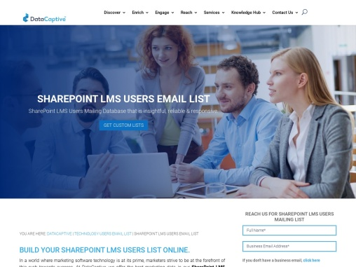 SharePoint LMS Users Email List | SharePoint LMS Users List