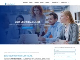 UNIX Users Email List | UNIX Customer Mailing Database