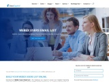 WebEx Users Email List | Mailing Database for Sale