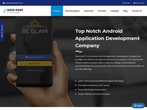 Android App Development Company| Top Android App Builders