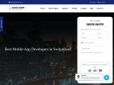 Best Mobile App Developers in Switzerland