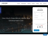 How Much Does It Cost to Create a Bitcoin Wallet App?