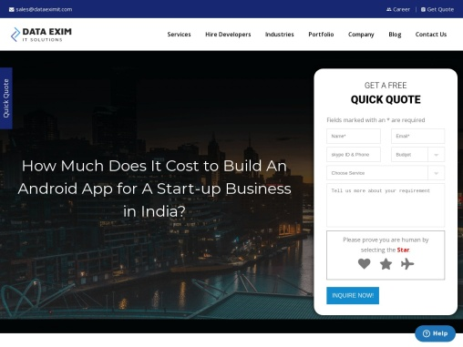 How Much Does It Cost to Build An Android App for A Start-up Business in India?