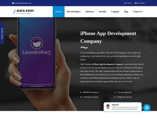 iPhone App Development Company   iPhone App Developers in India