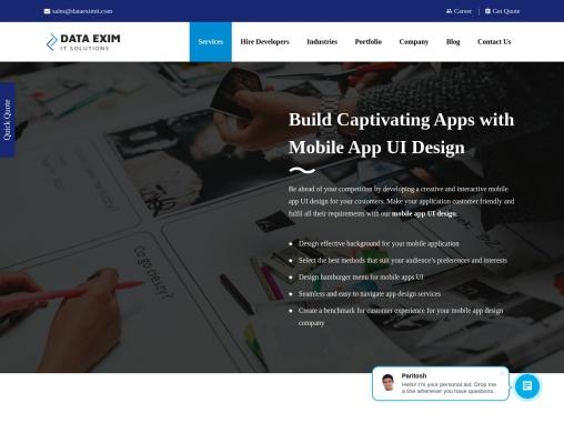 Best Mobile App UI Design USA  App User Interface Design Agency