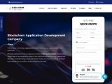 Top blockchain application development companies
