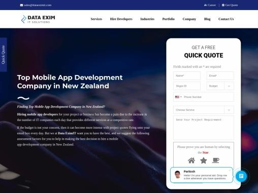 Top Mobile App Development Company in New Zealand