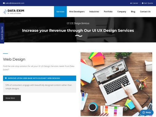 Top UI UX Design Service Provider