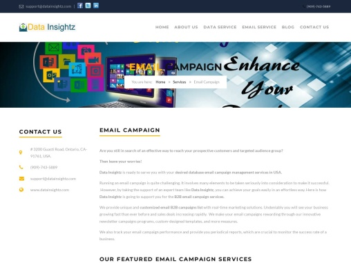 Online B2B Email Marketing Campaign USA