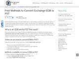 HOW TO RECOVER CORRUPT EDB FILE
