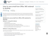 OFFICE 365 BACKUP AND RESTORE TOOL
