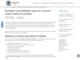 CONVERT NSF TO PST FILE FORMAT