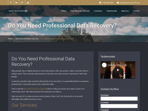Do You Need Professional Data Recovery?