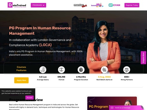Certificate In Human Resource Management Course