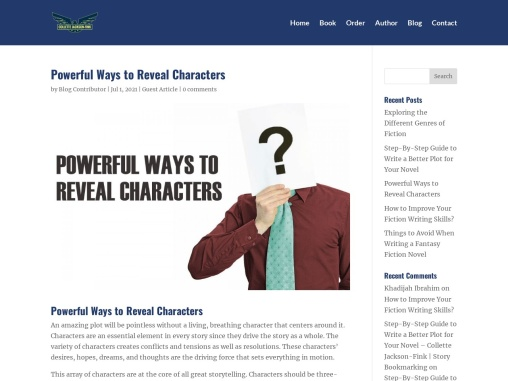 Powerful Ways to Reveal Characters