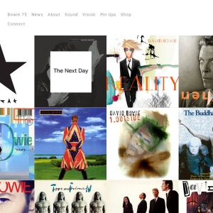 Discography — David Bowie