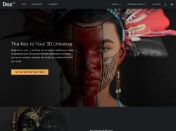 DAZ 3D (International) screenshot