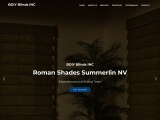 Roman Shades in Summerlin Nevada