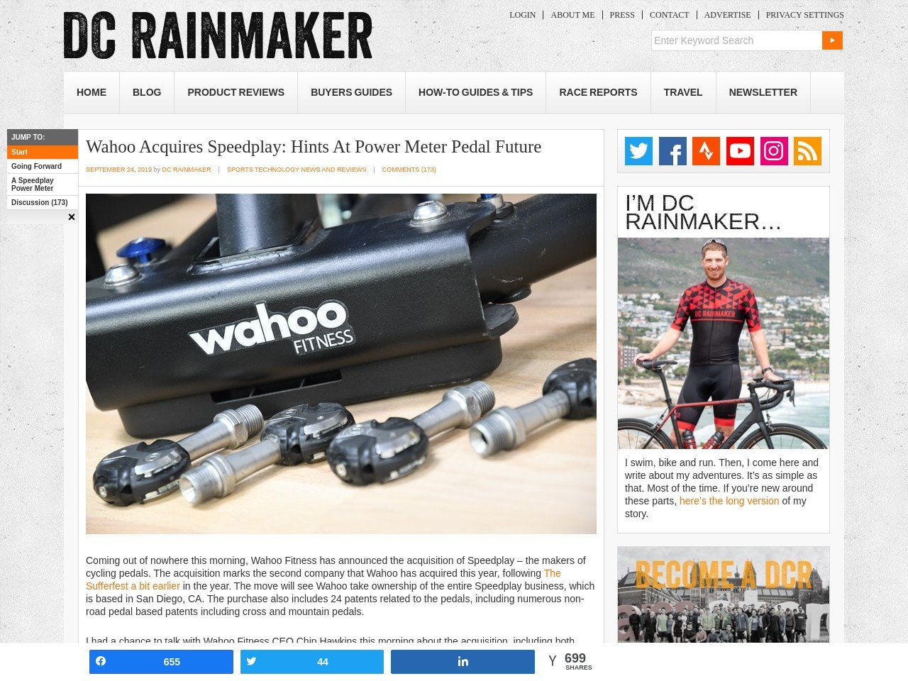 Wahoo Acquires Speedplay: Hints At Power Meter Pedal Future