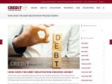 How does the debt negotiation process work?