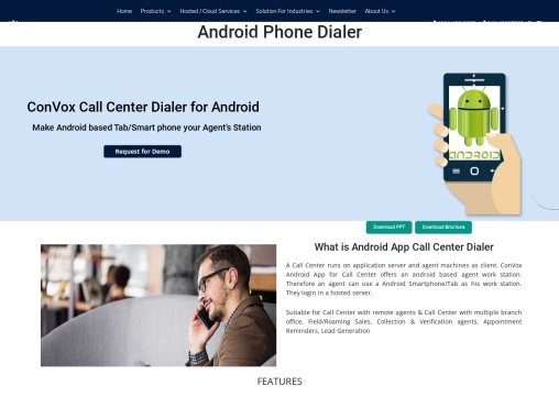 Android Phone Dialer | Call Center Dialer Solution | Deepijatel