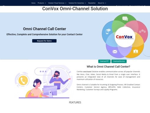 Omni-Channel Solutions | Contact Center | ConVox Omni-Channel Solution