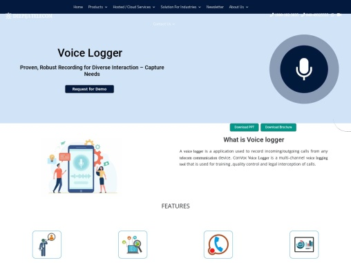 ConVox Voice logger and Recorder-deepijatel.com