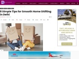 Tips To Do Smooth Shifting In Delhi