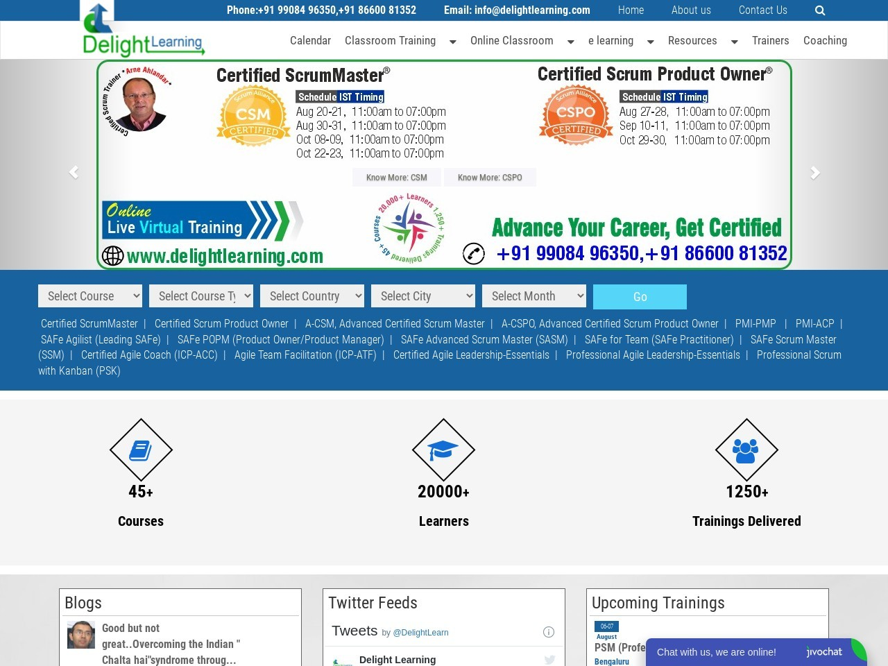 Certified Scrum Product Owner Online Training Course   Online CSPO Certification in India