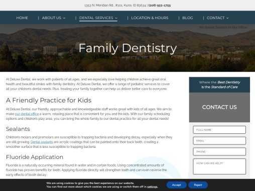 Family Dentistry In Kuna | Deluxe Dental