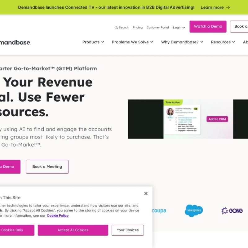 Homepage | Account-Based Marketing – Demandbase