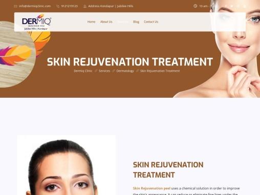 Best Laser Skin Rejuvenation Treatment | Dermiq Clinic