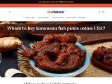 Where to buy Fish/Koramenu Pickle in USA? | desiauthentic.com